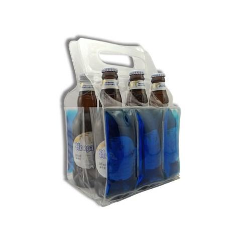 6 pack beer gel cooling tote