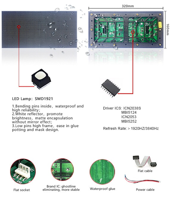Outdoot LED Display Modules