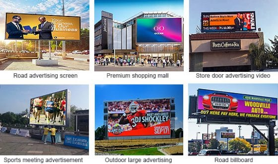 CHENKSE outdoor LED billboard