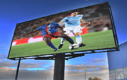 led advertising screens