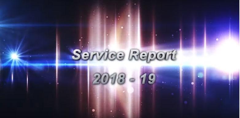 Brahma Kumaris Tamil Nadu: Annual Service Report -2018-19
