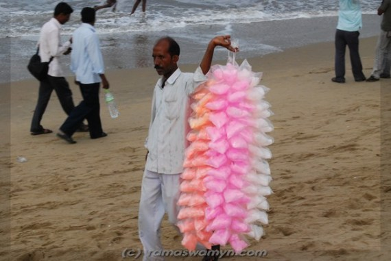 Cotton Candy Seller