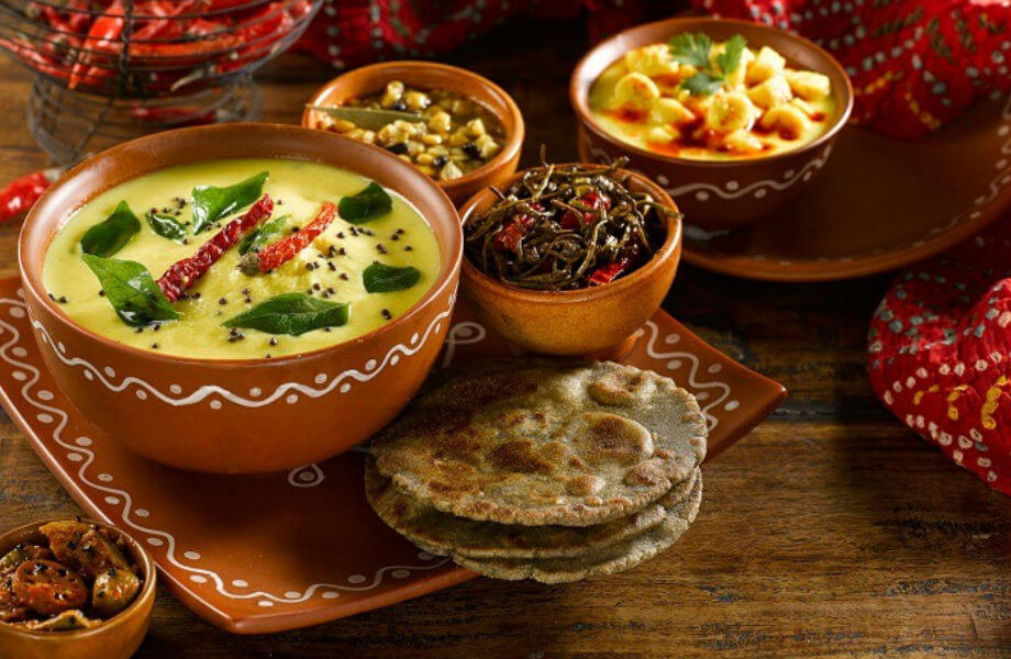 THE RAJASTHANI CUISINE