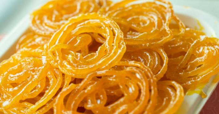 Jalebi popular dessert in india