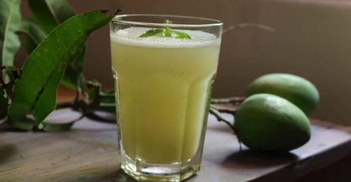 Mango juice for summer