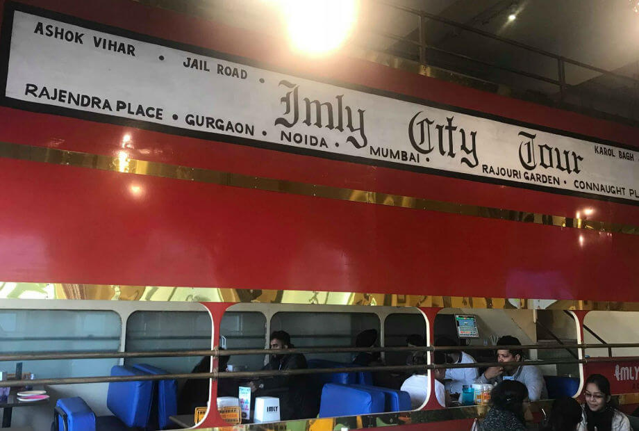 IMLY Train Theme Restaurant Image