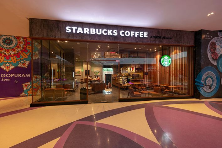 starbucks vr mall