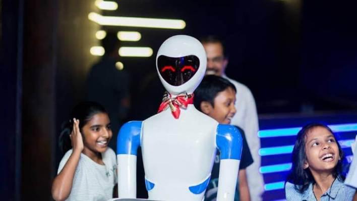 Robot Theme Restaurant in Semmancheri, Chennai