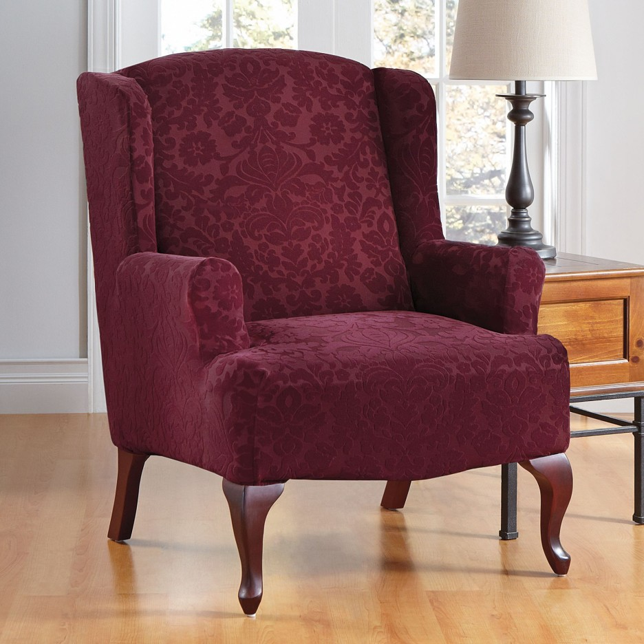 Wing Back Chair Covers Wingback Chair Covers Top Blog For Chair Review