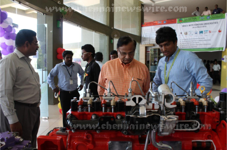 Saveetha University Competition expo