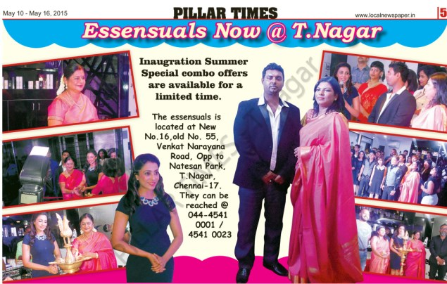 Essensuals T.nagar Chennai