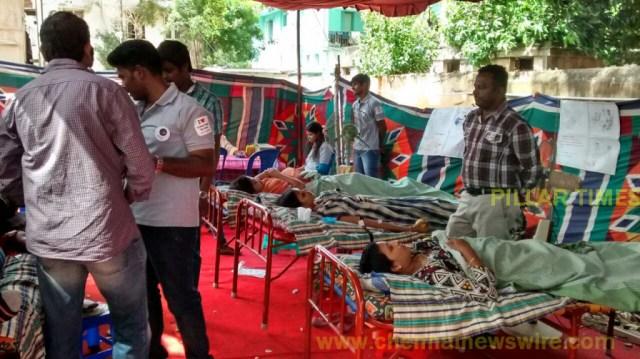 T-NAGAR TIMES Blood Donation Camp