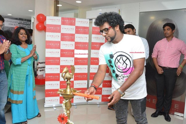 Limelite Salon & Spa launches its 12th outlet with Singer Haricharan,Now experience quality services in KK Nagar