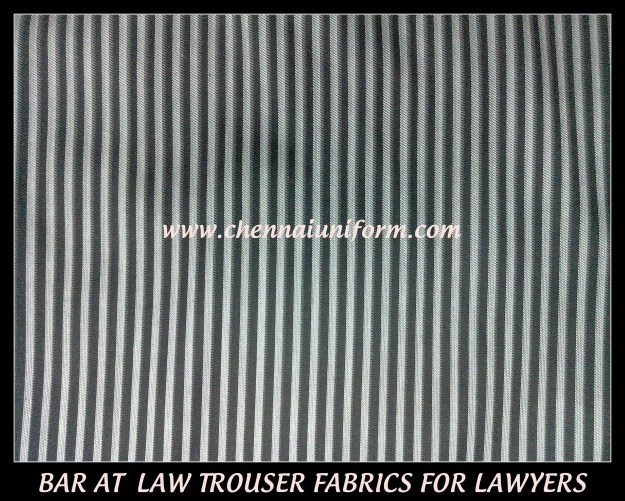 Trouser fabric for Lawyers in Chennai !!