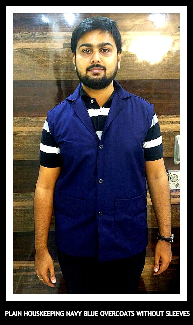 Without sleeves overcoats for Houskeeping Uniforms in Chennai