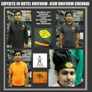 Hotel uniform suppliers in chennai