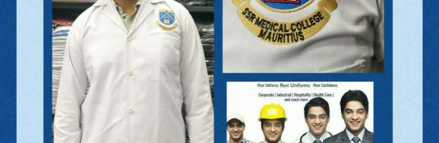 Uniform White Coat Manufacturer for Medical College In Mauritius- RSM Uniforms Chennai