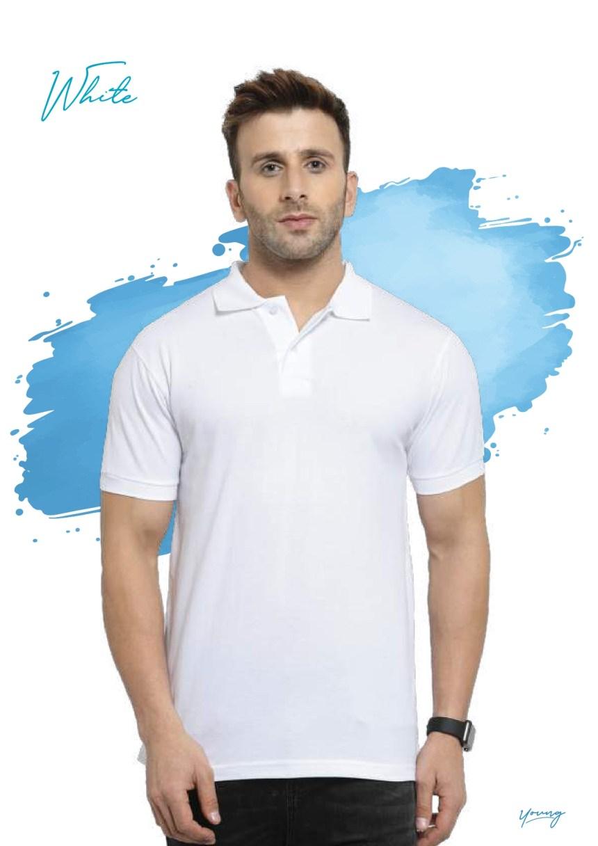 Scott young white t-shirt in Chennai- Rsm Uniform Chennai