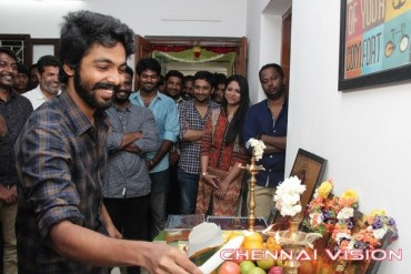 Bruce Lee Tamil Movie Pooja Photos by Chennaivision