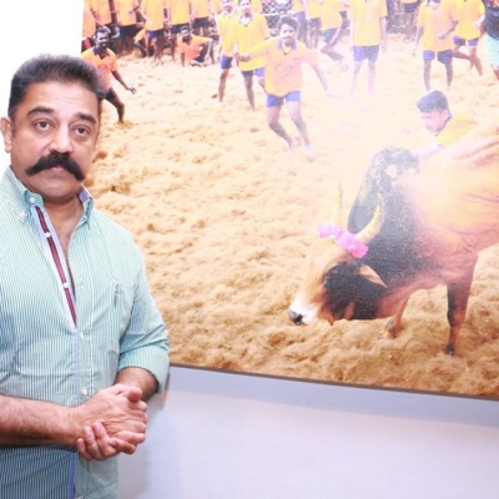 Jallikattu Photo Exhibition Opening Ceremony Stills