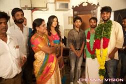 Thaami Tamil Movie Pooja Photos by Chennaivision