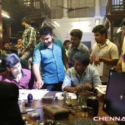 Kanithan Tamil Movie Working Photos