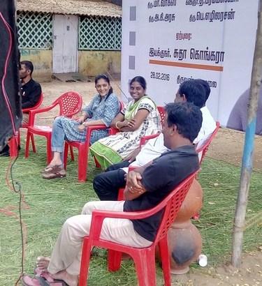 Tamilnadu Kalai Ilakkiya Perumandram Felicitated Photos