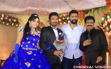 Director R Pandiarajan Son Prithvirajan Wedding Reception Photos