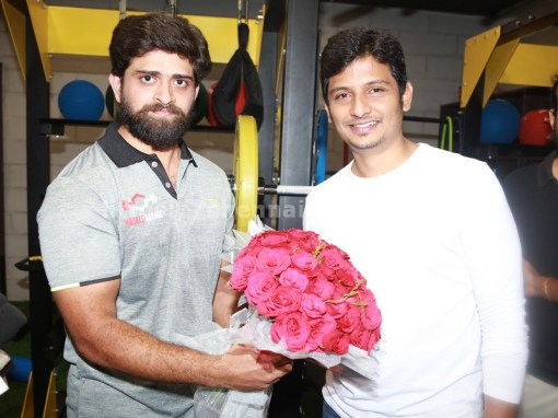 Actor Jiiva Inaugurated Muscle Garage GYM 1