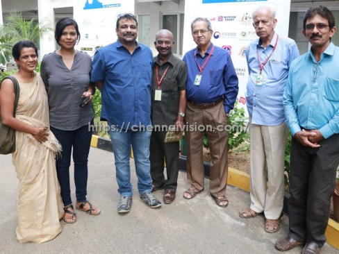 Vikram Vedha Directors at 15th Chennai International Film Festival Photos 1