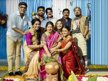 100 Percent Kaadhal Team Celebrated Pongal Photos