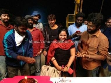 G. V. Prakash Kumar wife Saindhavi Birthday Celebration Photos