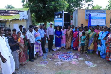 Grundfos India provides access to clean water to more than 1450 villagers