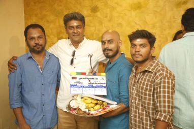 Vijay TV Fame Ramar Pairs with Sanjay Galrani Movie Pooja Photos (39)
