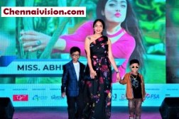 Abirami on the ramp with the children (2)