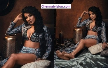 Actress @ssakshiagarwal stuns everyone with her latest hot photoshoot !