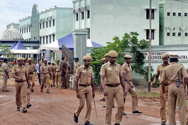 3-tier security at counting centres in Chennai