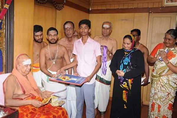 Without religious barriers, Kanchi Sankara