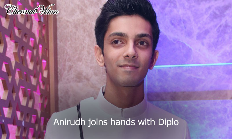 Anirudh joins hands with Diplo