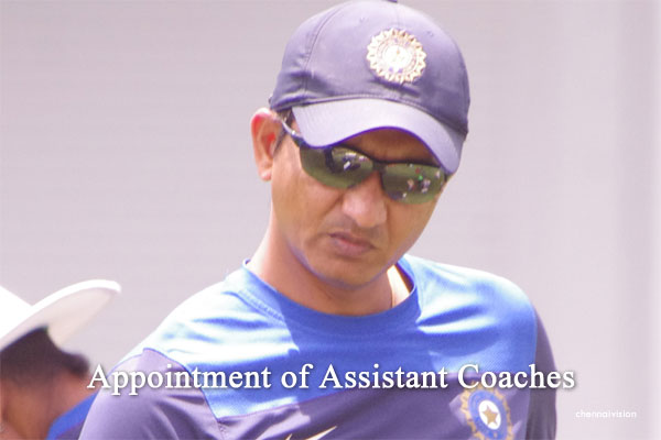 Appointment of Assistant Coaches for West Indies tour
