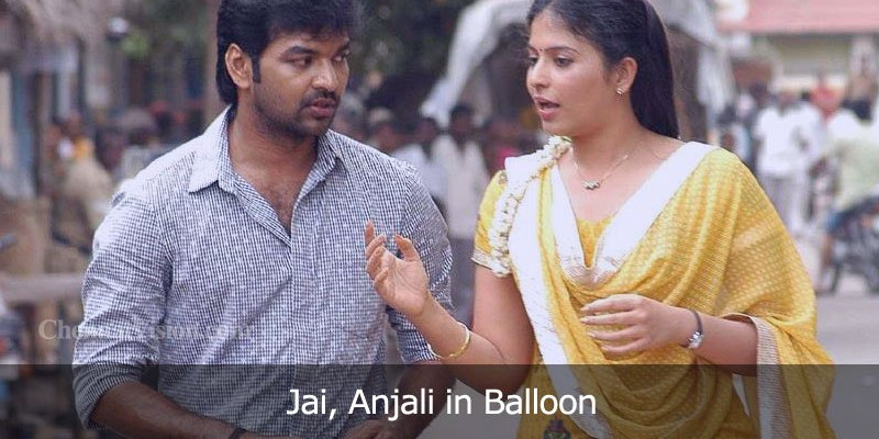 Actor Jai, Anjali in Balloon Movie