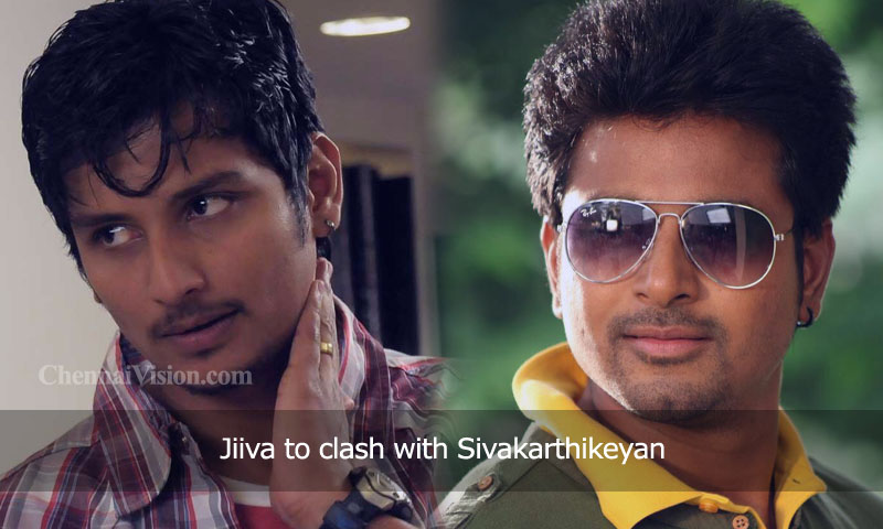 Jiiva to clash with Sivakarthikeyan