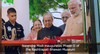 Narendra Modi inaugurates Phase-II of the Rashtrapati Bhawan Museum