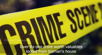 Over Rs one crore worth valuables looted from bizman's house