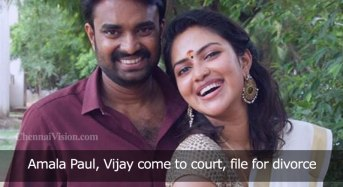 Amala Paul, Vijay come to court, file for divorce