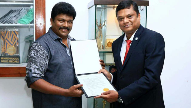 Parthiepan gets US honour