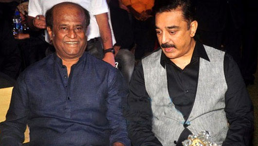 Rajini lauds Kamal for Chevalier honour