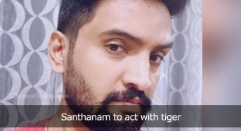 Santhanam to act with tiger