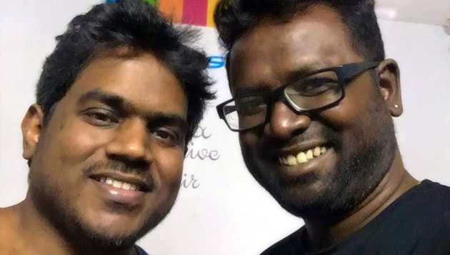 'Nerupu da' Arunraja sings for Yuvan