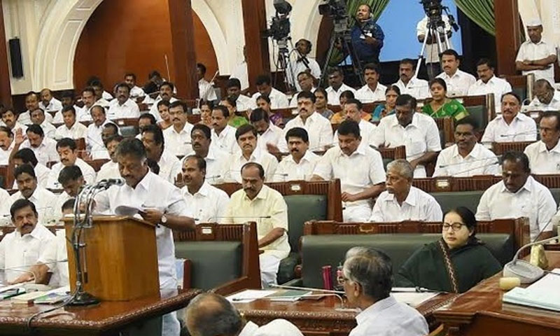 On last day of session, TN Assembly witnesses pandemonium